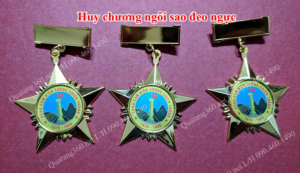 Huy chương ngôi sao đeo ngực