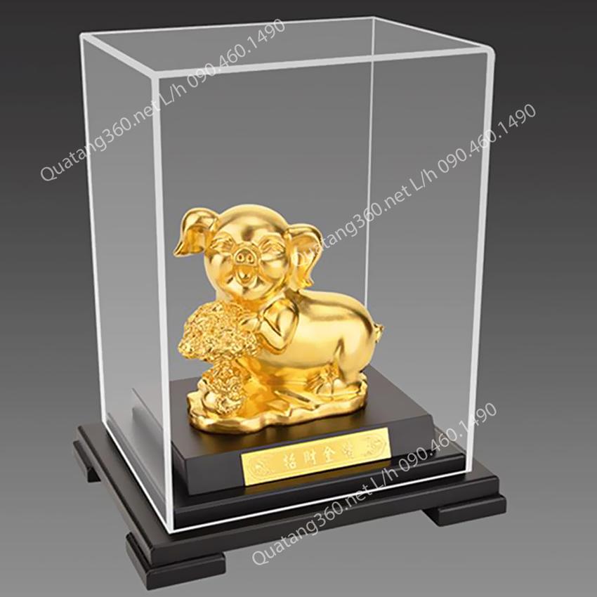quà tặng tuổi lợn mạ vàng
